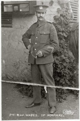Private R W Mapes 1st Norfolks (2)